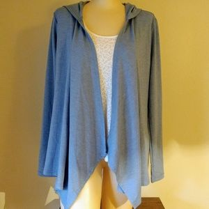 Victoria's Secret Waterfall Hoodie Cardigan